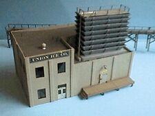 Alpine HO Union Ice Company 2 Story Building Wood Kit 566