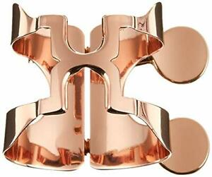 Ligature for Harrison Hearts alto saxophone A2 pink gold plated finish