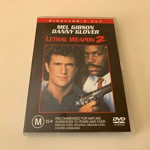 Lethal Weapon 2 - Director's Cut (DVD, 2001) Region 4 Mel Gibson, Danny Glover