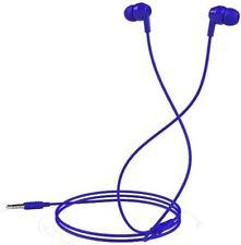 Auricolari e cuffie blu con riduzione del rumore