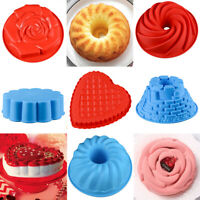 Silicone Bread Tray Mold Toast Loaf Bakeware Cake Pan Baking Mould Tray Tool