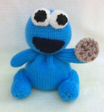 KNITTING PATTERN - Cookie Monster inspired chocolate orange cover/ 15 cms toy