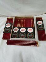 "Vintage Eagle Verithin 745 Carmine Red ""Chemi*Sealed"" Colored Pencils NIB USA"