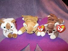 NIP, SNIP, AND POUNCE   TY BEANIE BABIES