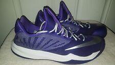 Nike Men Zoom Run The One Basketball Shoe James Harden Purple 685779-505 Sz 16.5