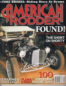 American Rodder Magazine Jan. 2003 - 1950 Roadster - 100 Street Rod Engine Ideas