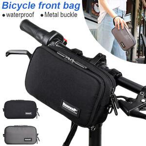 1.5L Bicycle Bag Waterproof Handlebar Front Frame Tube Bag Pannier Shoulder Pack