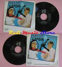 LP 45 7'' PLASTIC BERTRAND & NATHALIE L'amour ok Stop ou encore 1982(*)cd mc dvd