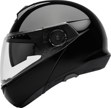 SCHUBERTH C4 GLOSS BLACK MOTORCYCLE HELMET- LARGE