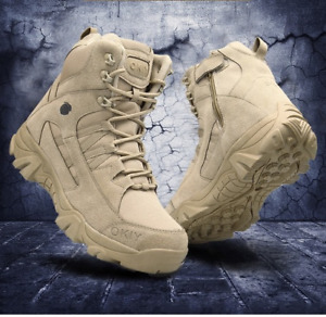 Military Ankle Outdoor Tactical Combat Army Hunting Work Boots Shoes Casual