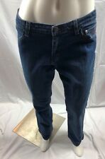 Harley Davidson Medium Wash Boot Cut Jeans Womens Size 8 Denim Blue