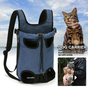 Outdoor Travel Dog Carrier Walking Legs Out Hiking Soft Pet Puppy Front Facing