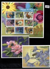 /// CONGO - MNH - BUTTERFLY - FLOWERS - INSECTS