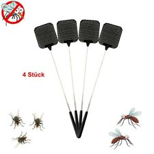 4X Fly Big Swat Killer Swatter Bug Bee Mosquito Zapper Insect Long Handle