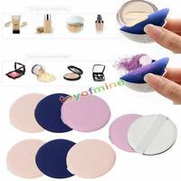 8pcs puff BB crema aplicador esponja puff polvo facial maquillaje herramienta