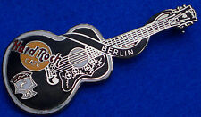 BERLIN ELVIS PRESLEY DEAD ROCKER ACOUSTIC GUITAR SERIES Hard Rock Cafe PIN