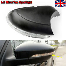 V-0083 Left Passenger Side NS Wing Mirror Cover Black Replacement By OE Quality