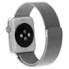 Silver Mesh Band for Apple Watch 42MM NIB Stainless Steel w/ Magnetic Clasp
