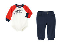 NWT Gymboree CIRCUS STAR Sz 12 18 24 M Mighty Little Dude Bodysuit & Pullon Pant