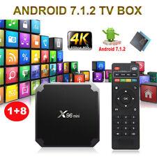 X96mini Android 7.1 TV Box Amlogic S905W Quad Core 1GB//8GB WiFi Tastatur O5L4