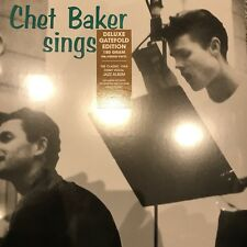 Chet Baker 'Sings' 2017 Deluxe Gatefold 180 gram Vinyl LP BRAND NEW & SEALED