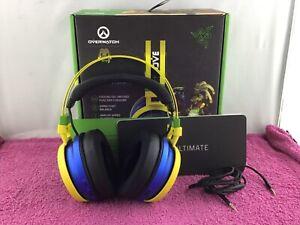 Razer Nari Ultimate, Overwatch Lucio Edition, Wireless Gaming Headset — USED