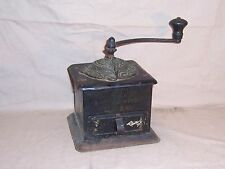 Antique Crown Coffee Mill Made By Landers Frary & Clark, No. 10 Coffee Grinder