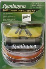 Remington (Radians)  T-85 Clay Shooting Saftey Glasses 5 lens set