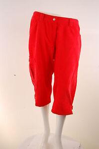 Ziener Ladies 3/4 Bikeshort Bike Pants Shorts X Function Catinka 421 Orange New