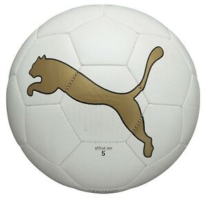 * Fußball Puma King Graphic weiß-gold [Größe 5] *