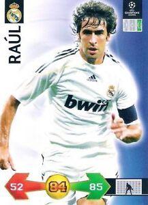 Adrenalyn XL - Super Strikes 2009/2010 - Real Madrid Spieler aussuchen