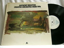 ANTHONY BRAXTON Creative Orchestra Music 1976 Dave Holland Kenny Wheeler LP