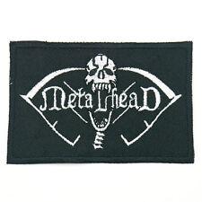 METALHEAD Patch Aufnäher HEAVY METAL