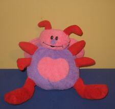 2009 Animal Adventure Pink Heart Tummy LadyBug Valentines Day Stuffed Plush