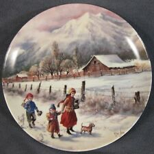 Hand In Hand Collector Plate Nature's Child Mimi Jobe Knowles China 84-K41-100.6