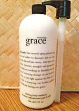 Philosophy AMAZING GRACE FIRMING BODY EMULSION ( LOTION ) 32 OZ SEALED WITH PUMP