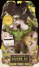 Power Punch Hulk The Incredible Hulk Movie Figure 2008 Cop Car Boxing Glove