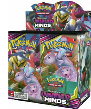 Pokemon UNIFIED MINDS English Sun & Moon Booster Box Factory Sealed 36 packs