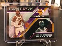 Lebron James 2020-21 Donruss Fantasy Stars SP. LA Lakers 🔥