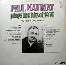 1977 黑膠唱片 PAUL MAURIAT Plays The Hits Of 1976 LP All by Myself