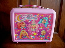 MOON DREAMERS HASBRO Vintage 1987 PINK PLASTIC LUNCHBOX without  BOTTLE VG