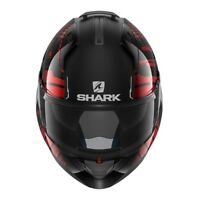 Casco Moto Modulare flip up Shark Evo One 2 Lithion Black Chrom Red