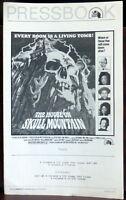 Horror House on Skull Mountain ORIGINAL 1974 Pressbook Victor French