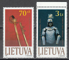 "Litauen / Lieuva Nr. 712-713** Kriegsmuseum ""Vytautas der Große"""