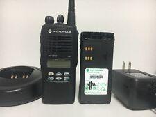 MOTOROLA HT1250 VHF 136-174mhz 128ch RADIO AAH25KDF9AA5AN FM INTRINSICALLY SAFE