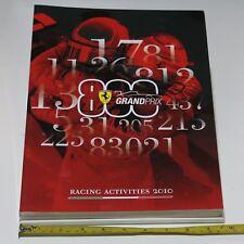 Libro Pubblicazione Ferrari Racing Activities 2010 Grand Prix 300 pagine