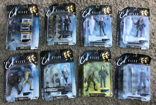 NEW THE X FILES FIGHT THE FUTURE MULDER SCULLY FIREMAN ALIEN ACTION FIGURES x8