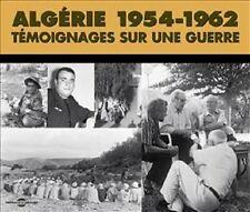 15615//ALGERIE 1954-1962 TEMOIGNAGES SUR UNE GUERRE COFFRET  3 CD NEUF