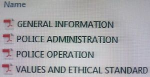 NAPOLCOM Compiled Selected Topics Reviewer for PO and SPO Examination