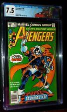AVENGERS #196 Newsstand 1980 Marvel Comics CGC 7.5 VF-